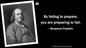preparing to fail